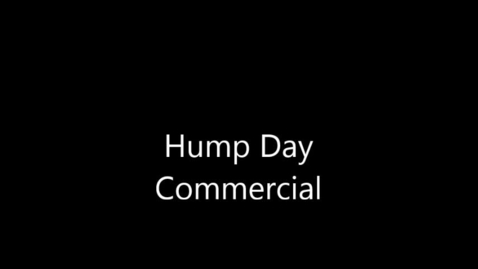 Thumbnail for entry Hump Day Commercial