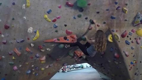 Thumbnail for entry Rock Climbing Enthusiast