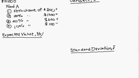 Thumbnail for entry Variance and Standard Deviation