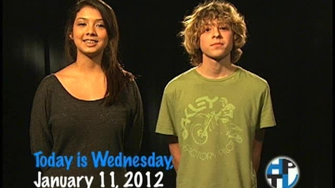 Thumbnail for entry Wednesday, January 11, 2012