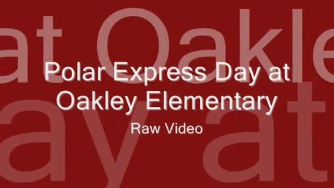 Thumbnail for entry Polar Express Day