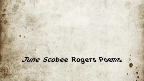 Thumbnail for entry June Scobee Roger Poems