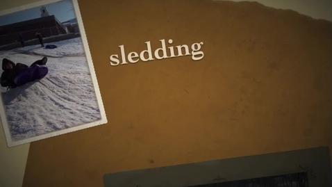 Thumbnail for entry Somerset Buddy Sledding