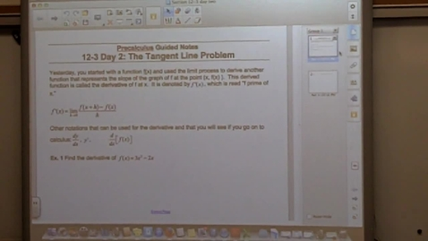 Thumbnail for entry Precalculus Section 12-3 day two