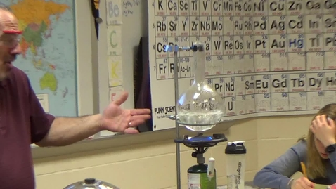 Thumbnail for entry 20. Using Ice to Boil Water Demo part II - Mr B.MP4