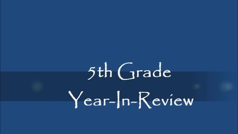 Thumbnail for entry 2011-2012 Brookville 5th Grade
