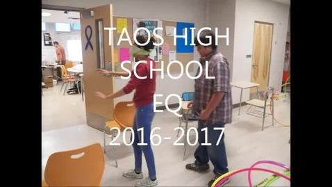 Thumbnail for entry Taos High School EQ 2016