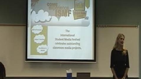 Thumbnail for entry International Student Media Festival