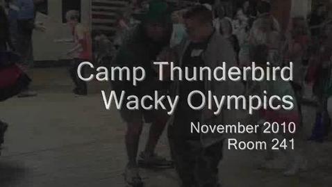 Thumbnail for entry Wacky Olympics - Camp 2010