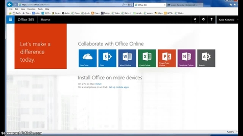 Thumbnail for entry Overview of Office 365
