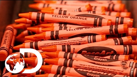 Thumbnail for entry How Crayons are Made | How It's Made