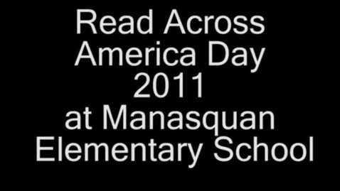 Thumbnail for entry Read Across America Day
