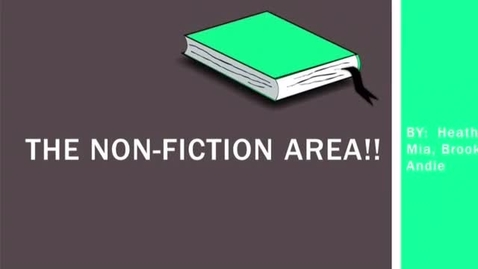 Thumbnail for entry The Non-Fiction Area