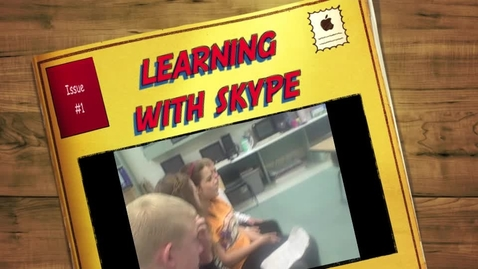 Thumbnail for entry Learning with Skype