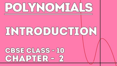Thumbnail for entry Introduction to Polynomials | Basics of Polynomials | Letstute
