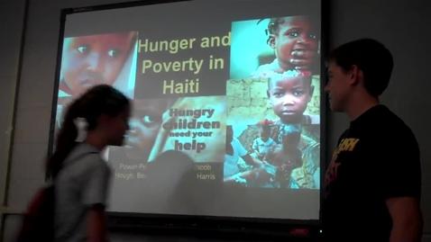 Thumbnail for entry Huger in Haiti