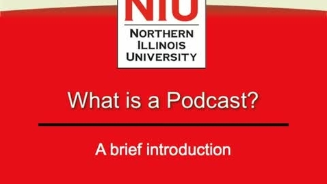 Thumbnail for entry What is Podcasting?