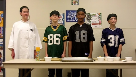 Thumbnail for entry Wilson Focus School - Fuel Up to Play 60 - Dessert Nachos