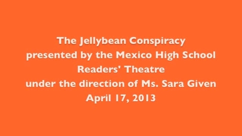 Thumbnail for entry The Jellybean Conspiracy April 17 Performance