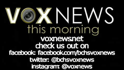 Thumbnail for entry  VOX News this Morning for Friday, February 12, 2016