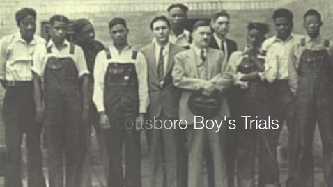 Thumbnail for entry iMovie Project - The Scottsboro Boys