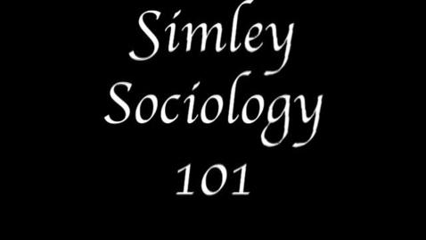 Thumbnail for entry Freshmen - Simley Sociology 101