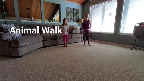 Thumbnail for entry Animal Walk