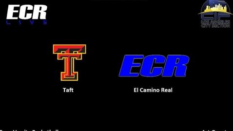 Thumbnail for entry ECR Vs. Taft Boys Varsity Basketball