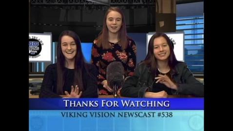 Thumbnail for entry Viking Vision News Fri 1-18-2019 #538