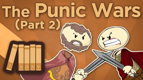 Thumbnail for entry Rome: The Punic Wars - The Second Punic War Begins - Extra History - #2