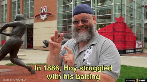 """Thumbnail for entry The History of William """"Dummy"""" Hoy - A Deaf Baseball Player"""