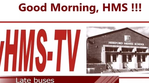 Thumbnail for entry 5-26-17 WHMS Morning News