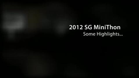 Thumbnail for entry Minithon 2012 Highlights