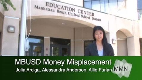 Thumbnail for entry District Money Misplacement