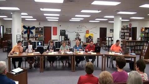 Thumbnail for entry 5/12/11 Warrenton School Board