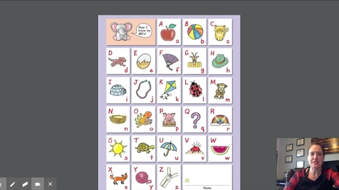 Thumbnail for entry Mrs. Adams and the Alphabet Sound Chart (1)