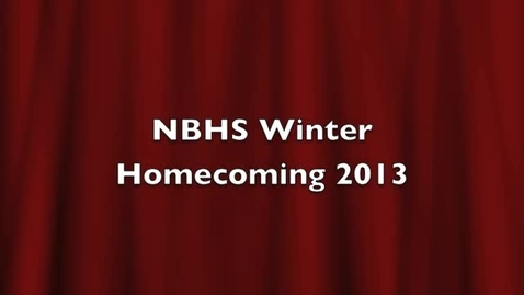 Thumbnail for entry NBHS Winter Homecoming Ceremony 2013