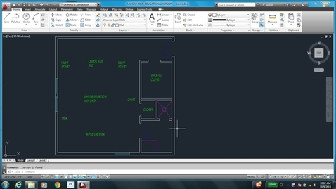 Thumbnail for entry AutoCAD LESSON 3K