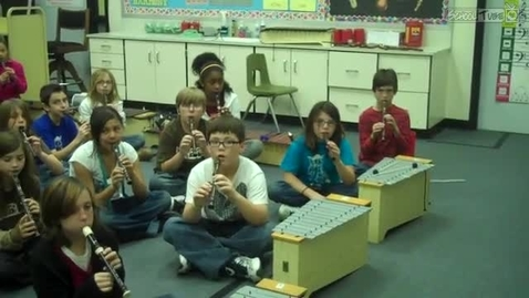 """Thumbnail for entry Mrs. Hendrix 2010 """"Jolly Old St. Nicholas"""" recorder class"""
