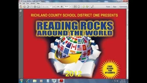 Thumbnail for entry Reading Rocks Flag 2012