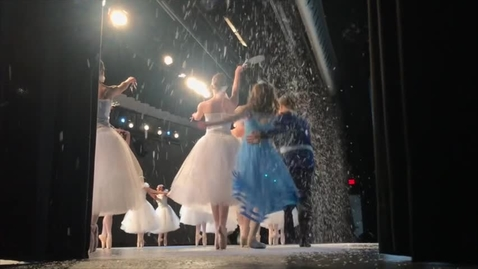 Thumbnail for entry Behind the scenes look at the Dee Buchanan Nutcracker ballet