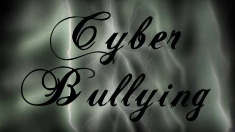 Thumbnail for entry cyberbullying zach