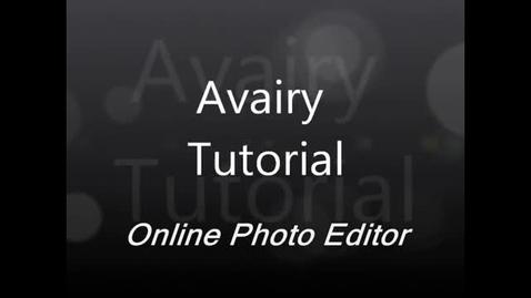 Thumbnail for entry Aviary Instructions