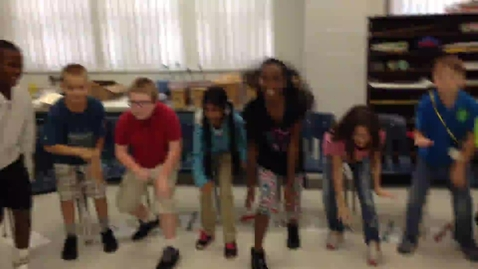 """Thumbnail for entry 14-15 Ms. McElveen's 4th grade class """"Russian Dance"""" from the Nutcracker"""
