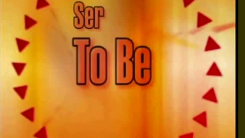 Thumbnail for entry Ser - To Be (Funny Spanish Song)