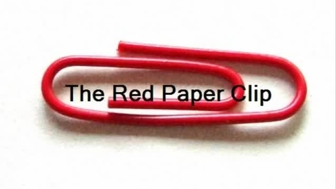 Thumbnail for entry Red Paper Clip