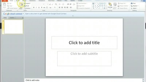 Thumbnail for entry Designing and Using Templates in Powerpoint