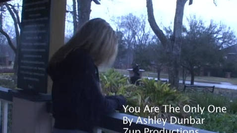 Thumbnail for entry 7. You're the only one-Original Music Video. VOTE!!!!