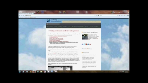 Thumbnail for entry Tutorial: Splitting screen in two with Windows 7, 8 or 10 operating systems