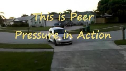 Thumbnail for entry Peer pressure